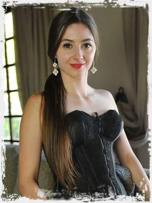 Leyla disccovers a passion for vintage lingerie and stockings. we rediscover our passion for Leyla