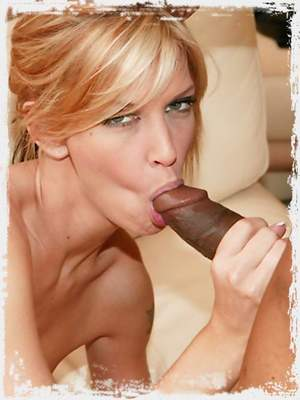 Brooke takes it deep and black