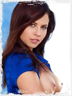 Is a fresh brunette with a great natural body